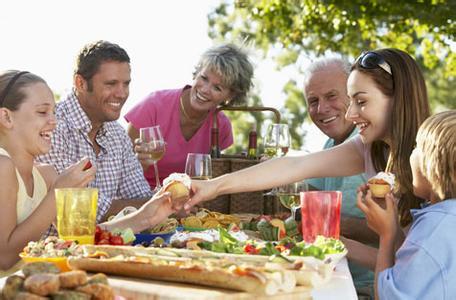 美国人的饮食习惯和请人吃饭的礼仪图片